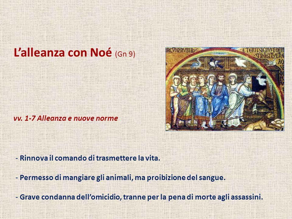 L'alleanza con Noé (Gn 9)