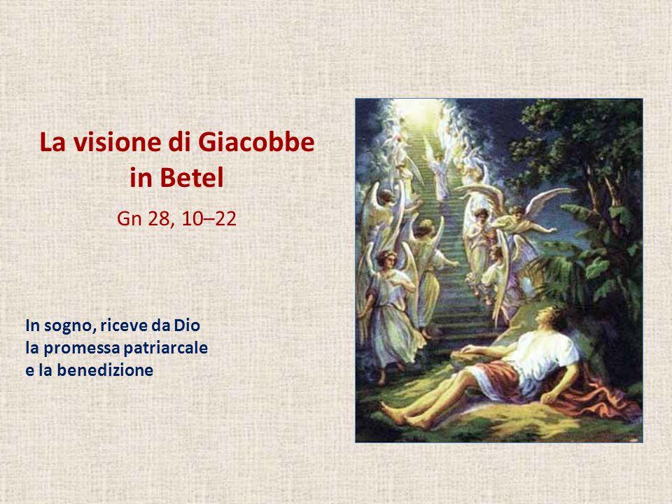 La visione di Giacobbe in Betel
