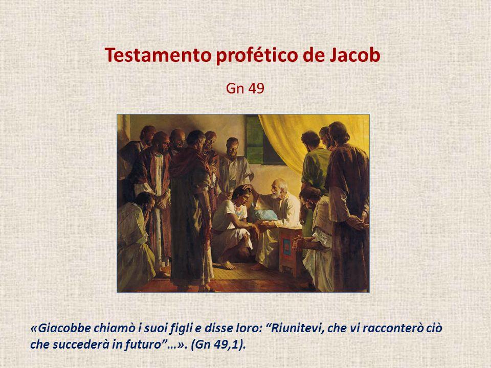 Testamento profético de Jacob