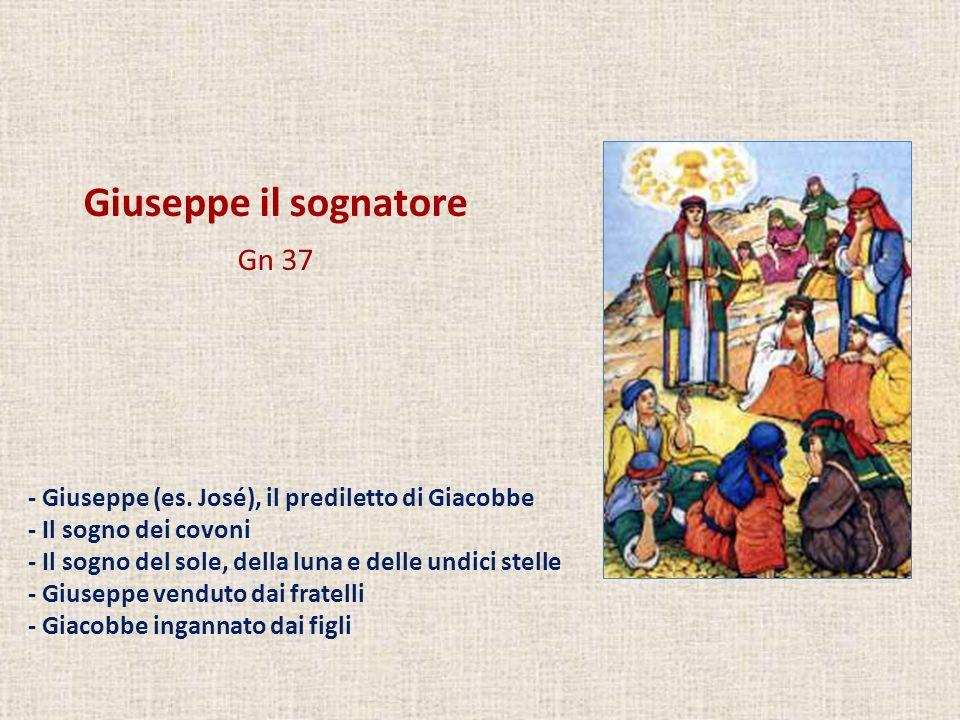 Giuseppe il sognatore Gn 37
