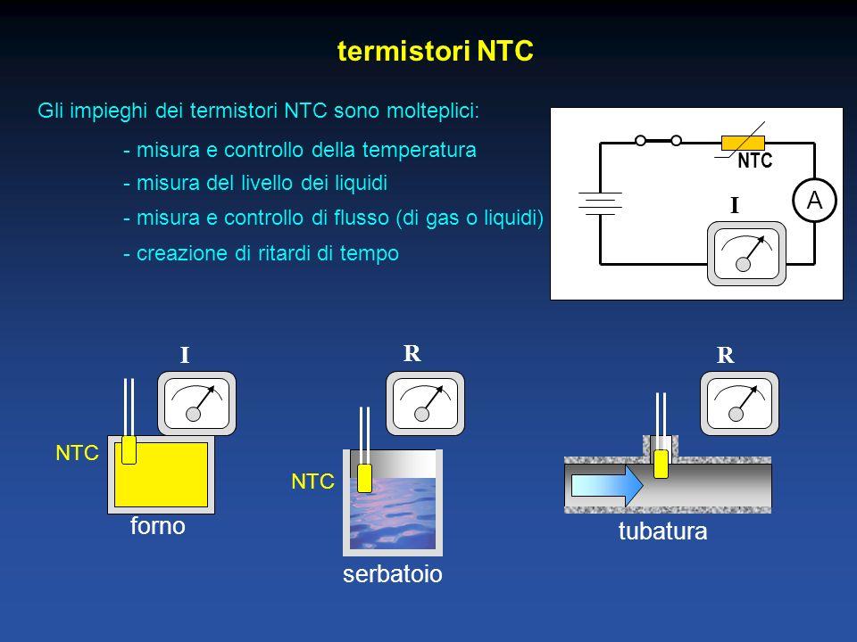 termistori NTC A I I R R forno tubatura serbatoio