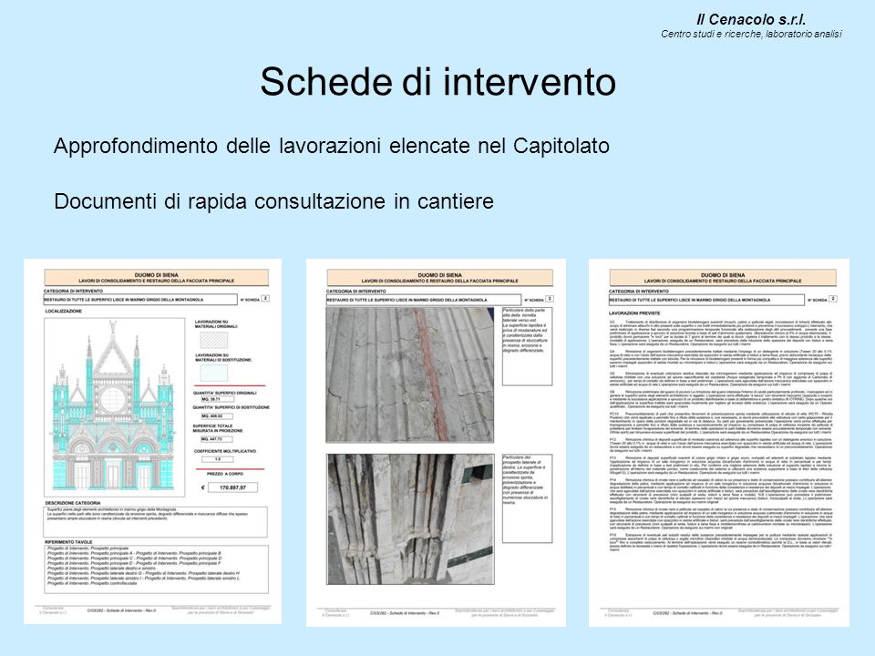 Il Cenacolo s.r.l. Centro studi e ricerche, laboratorio analisi