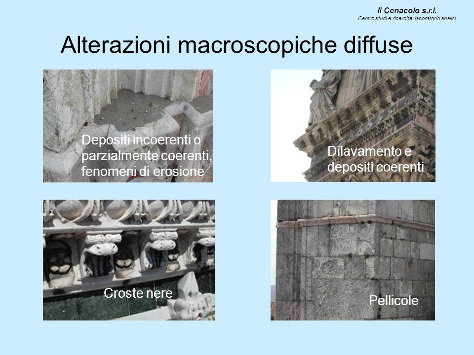 Alterazioni macroscopiche diffuse