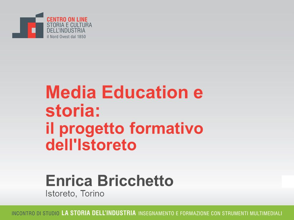 Media Education e storia: