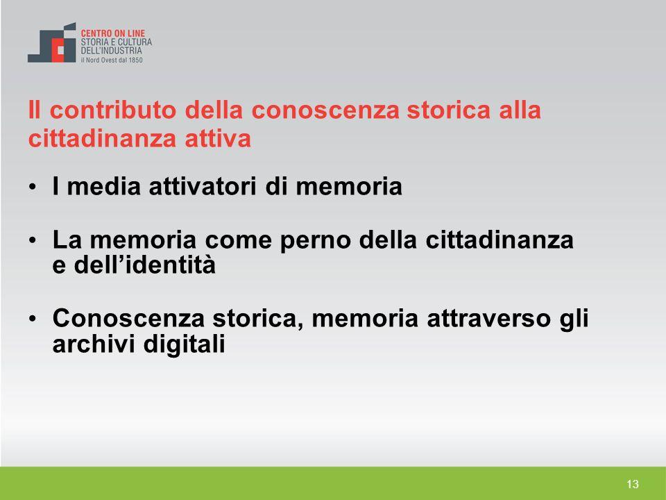 I media attivatori di memoria
