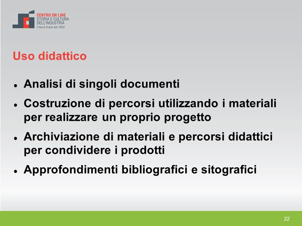 Analisi di singoli documenti