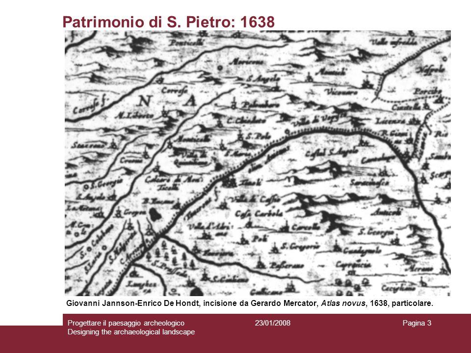 Patrimonio di S. Pietro: 1638