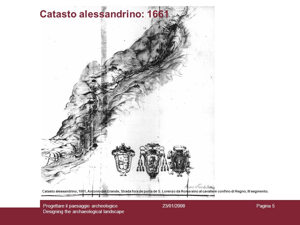 Catasto alessandrino: 1661