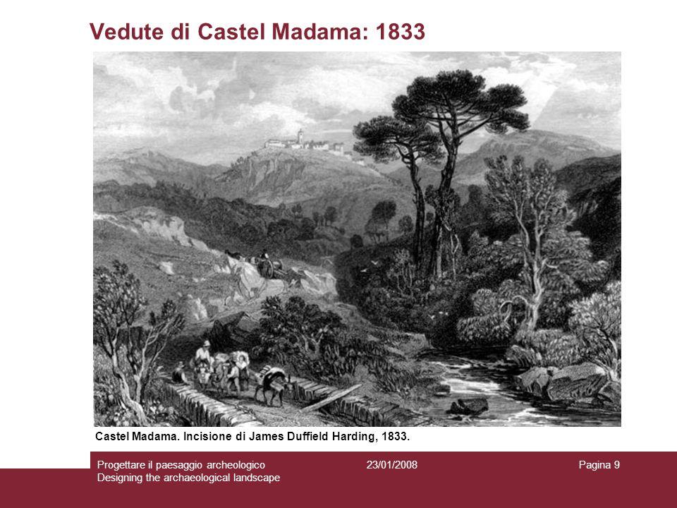 Vedute di Castel Madama: 1833