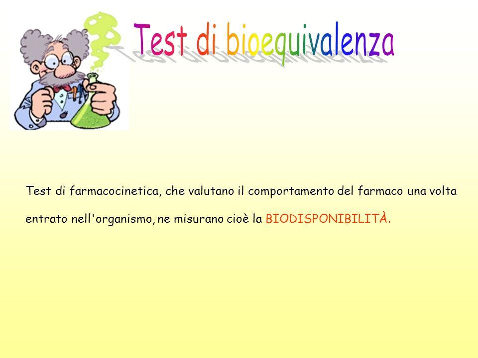Test di bioequivalenza