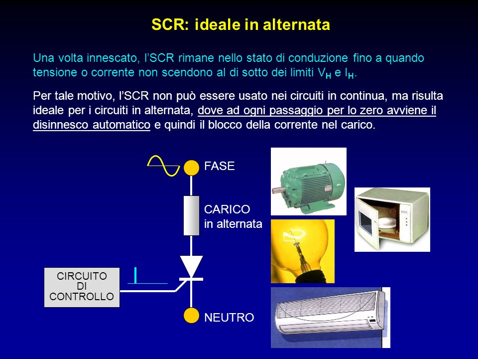 SCR: ideale in alternata
