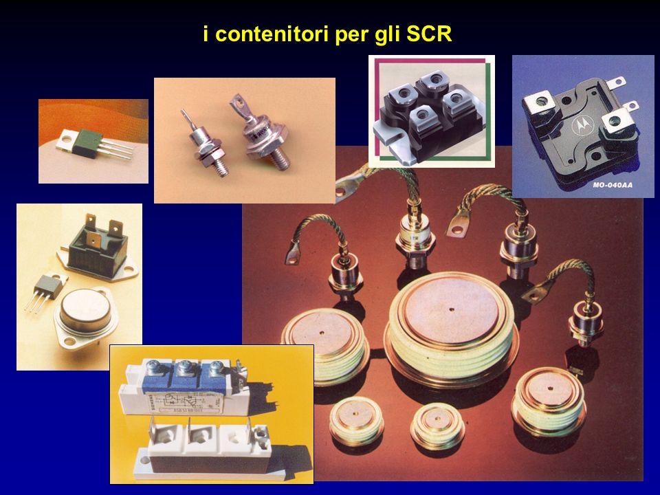 i contenitori per gli SCR