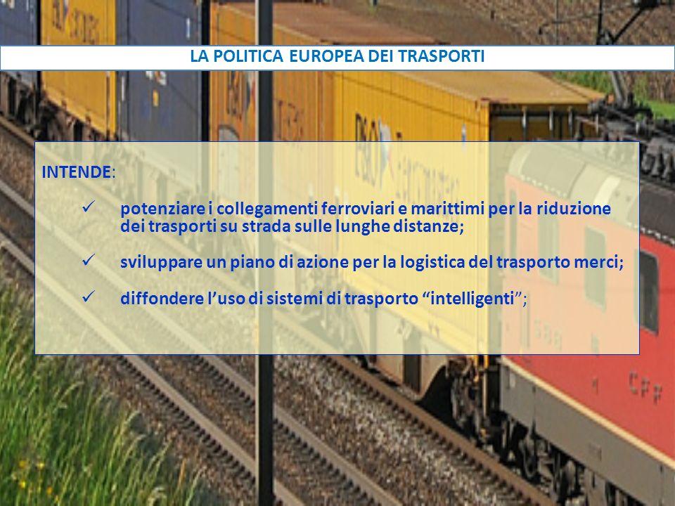 LA POLITICA EUROPEA DEI TRASPORTI