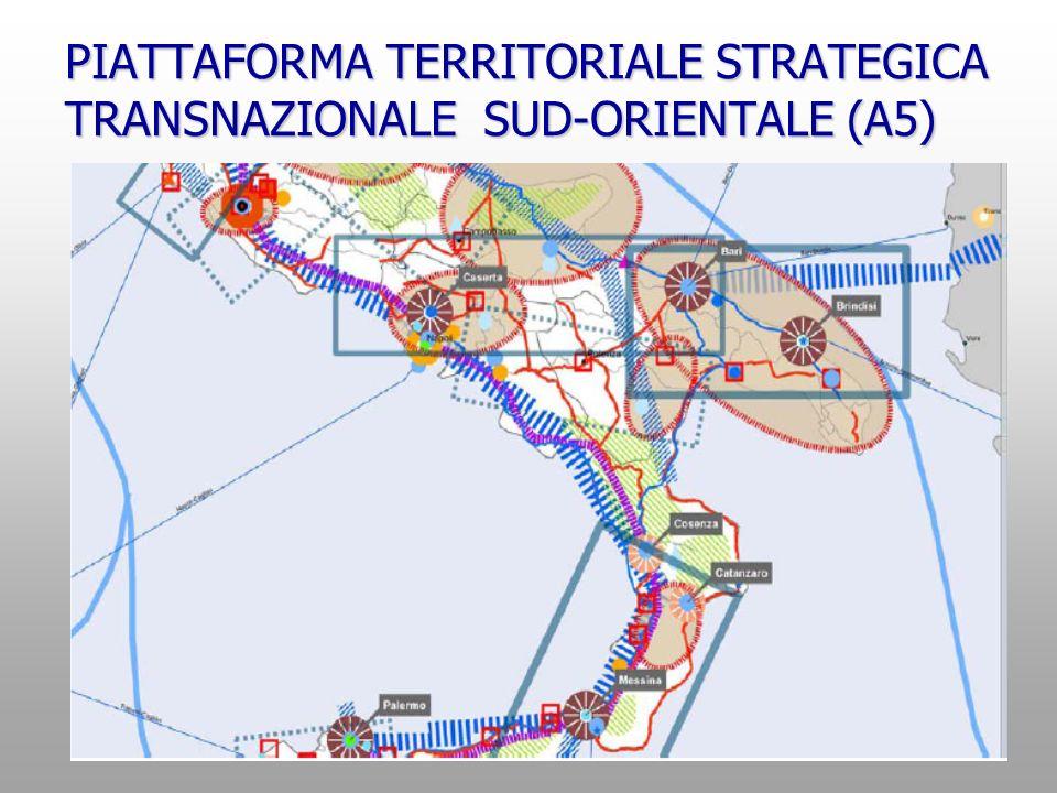 PIATTAFORMA TERRITORIALE STRATEGICA TRANSNAZIONALE SUD-ORIENTALE (A5)