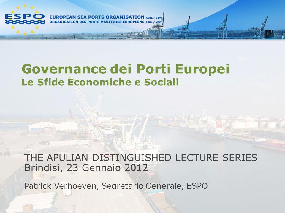 Governance dei Porti Europei Le Sfide Economiche e Sociali