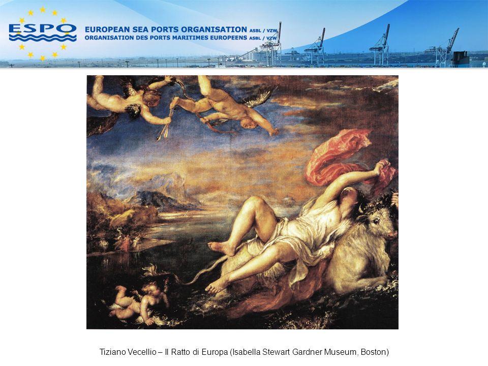 Tiziano Vecellio – Il Ratto di Europa (Isabella Stewart Gardner Museum, Boston)