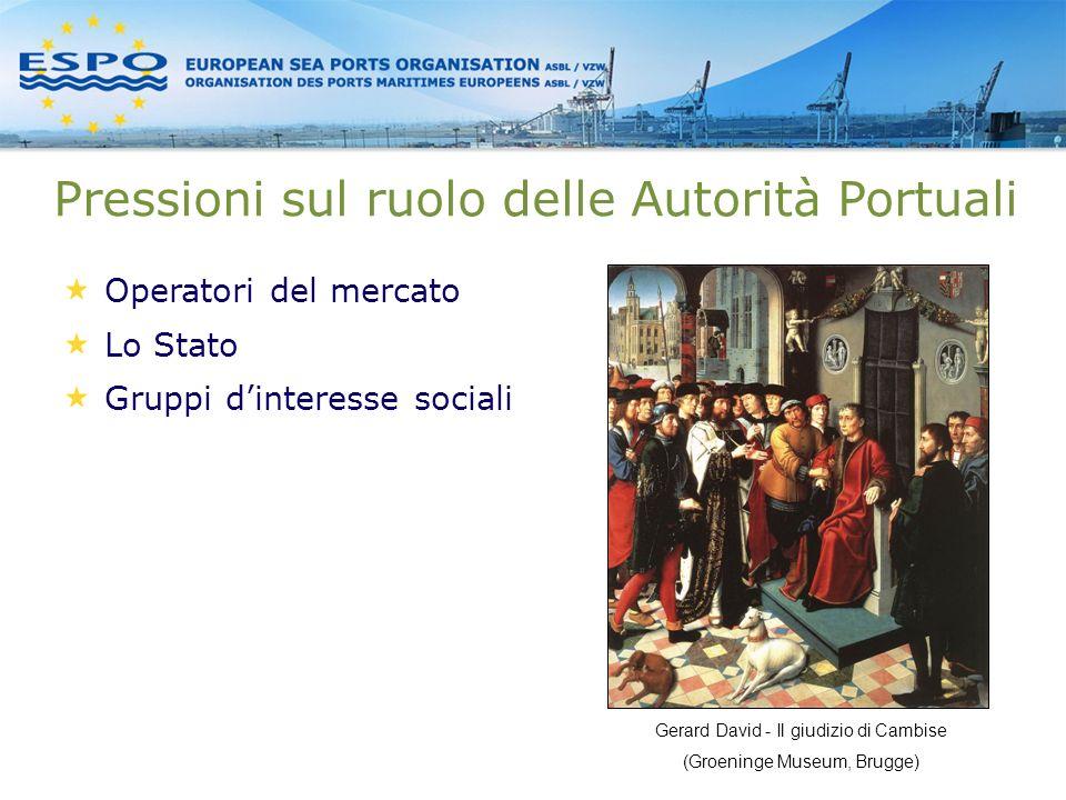 Pressioni sul ruolo delle Autorità Portuali