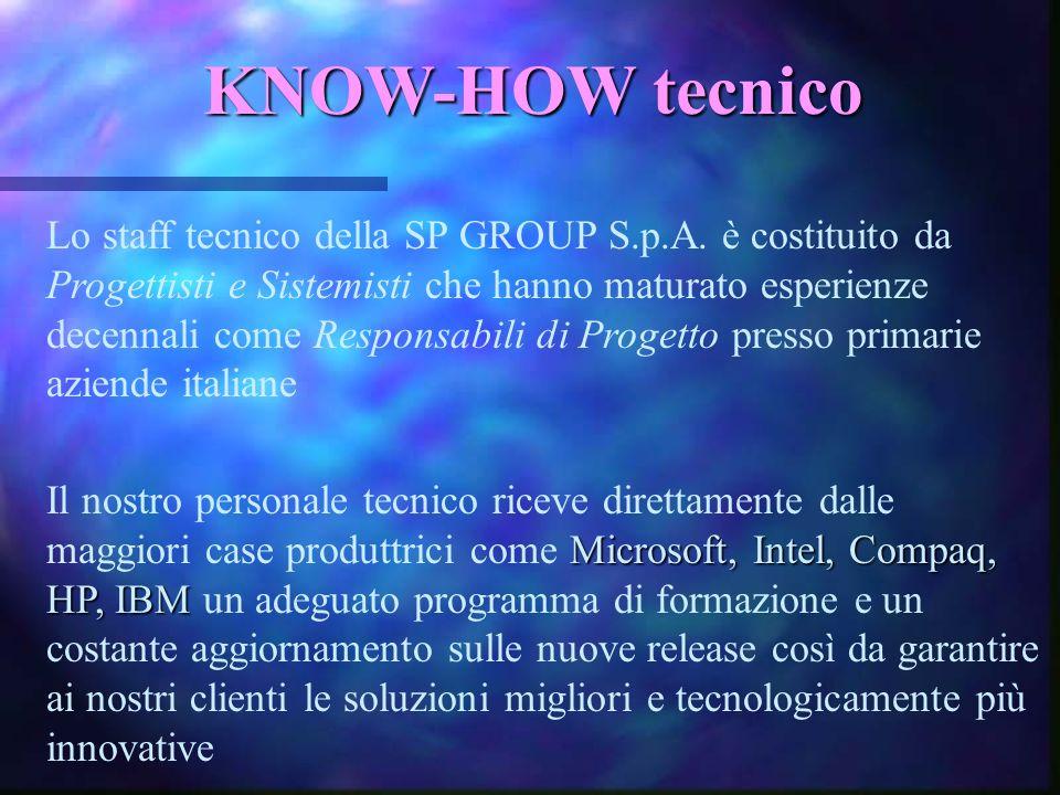 KNOW-HOW tecnico
