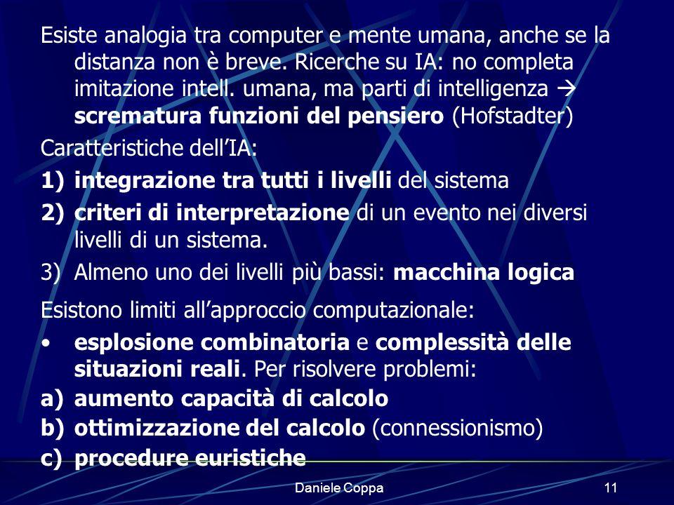 Caratteristiche dell'IA: integrazione tra tutti i livelli del sistema