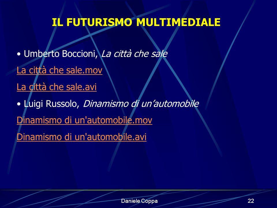 IL FUTURISMO MULTIMEDIALE