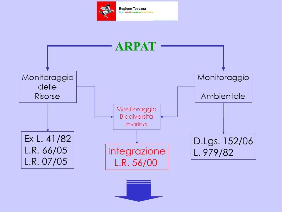 ARPAT Ex L. 41/82 D.Lgs. 152/06 L.R. 66/05 L. 979/82 L.R. 07/05