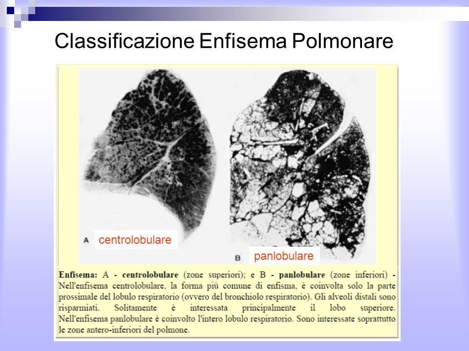 Classificazione Enfisema Polmonare