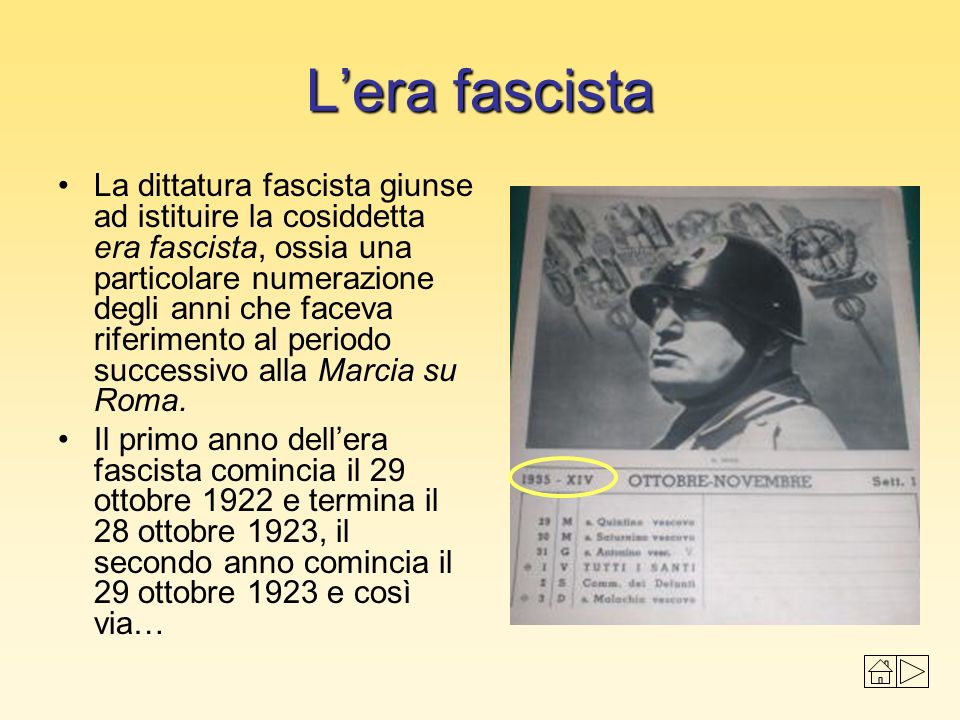 L'era fascista