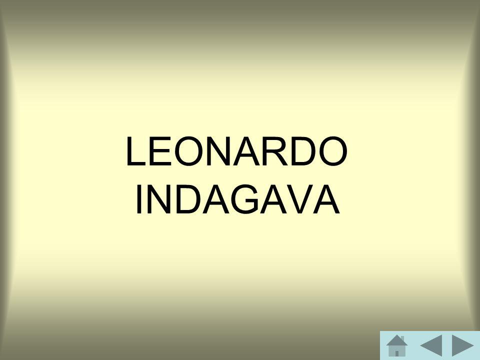 LEONARDO INDAGAVA
