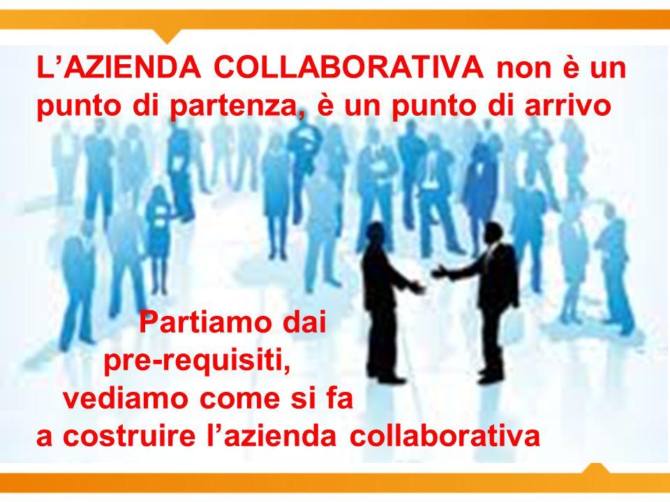 a costruire l'azienda collaborativa