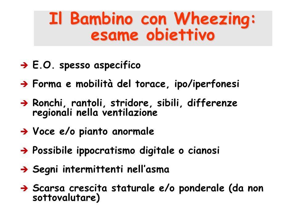 Il Bambino con Wheezing:
