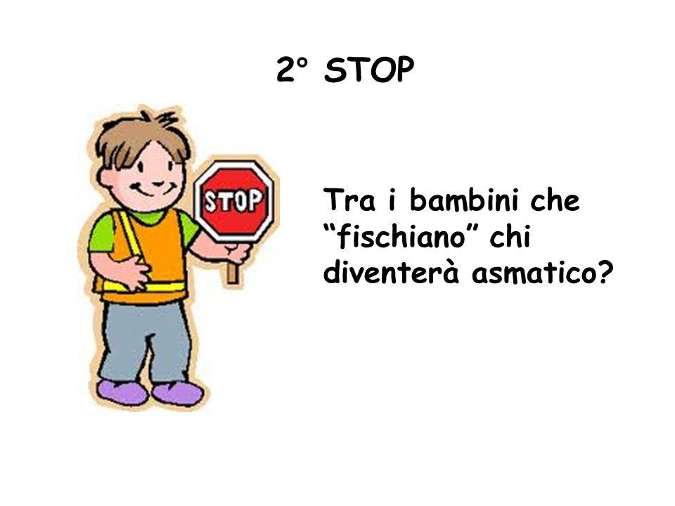 2° STOP Tra i bambini che fischiano chi diventerà asmatico