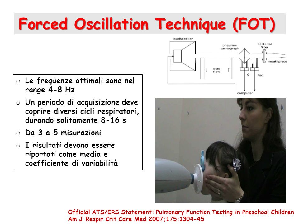 Forced Oscillation Technique (FOT)