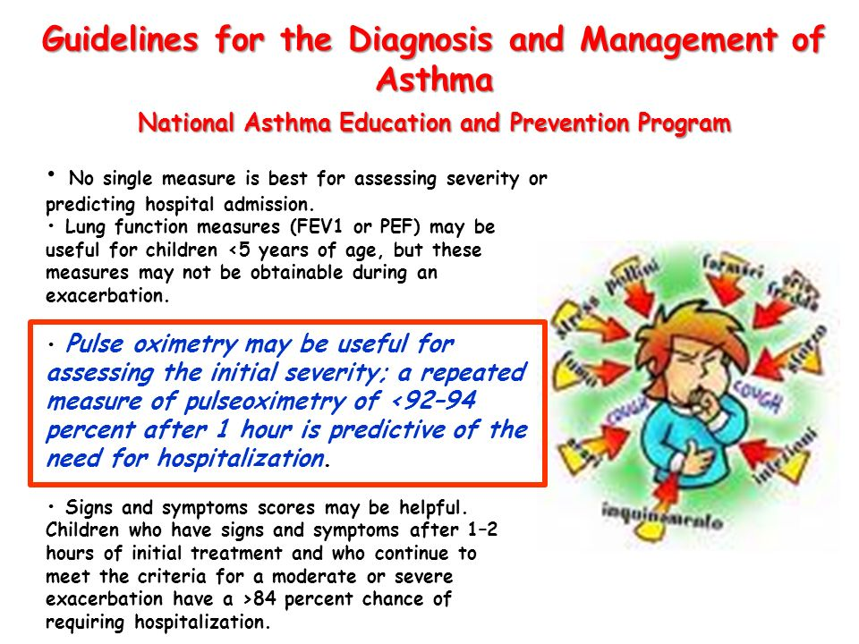 Guidelines for the Diagnosis and Management of Asthma National Asthma Education and Prevention Program