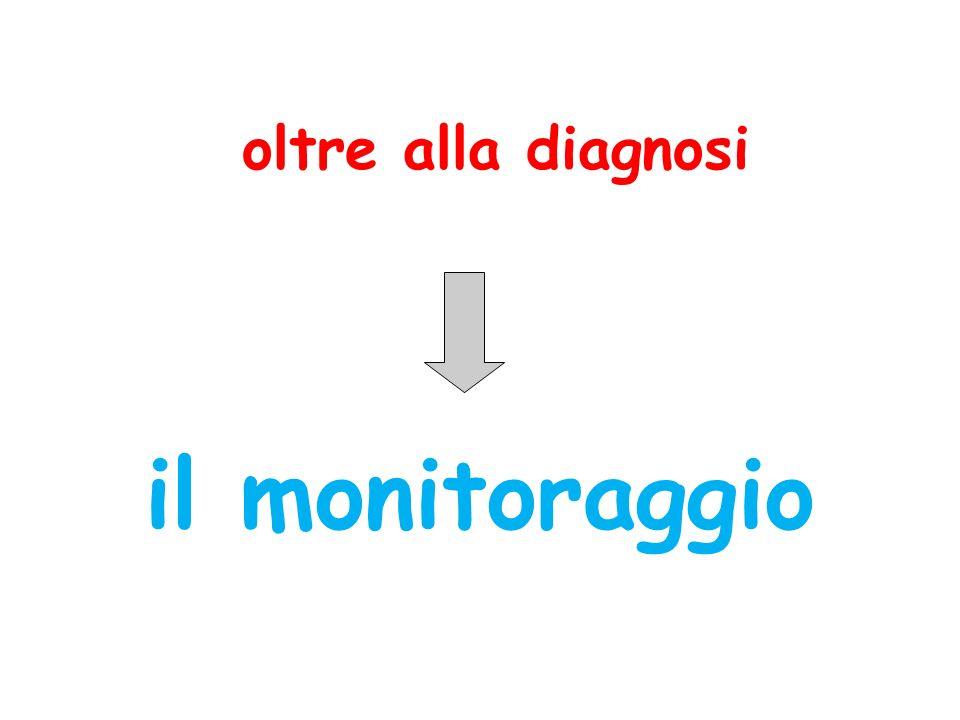 oltre alla diagnosi il monitoraggio