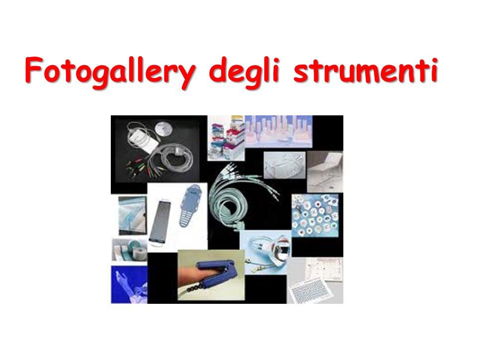 Fotogallery degli strumenti