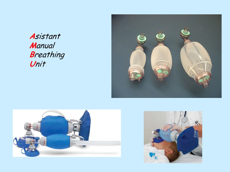 Asistant Manual Breathing Unit