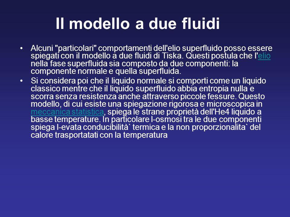 Il modello a due fluidi