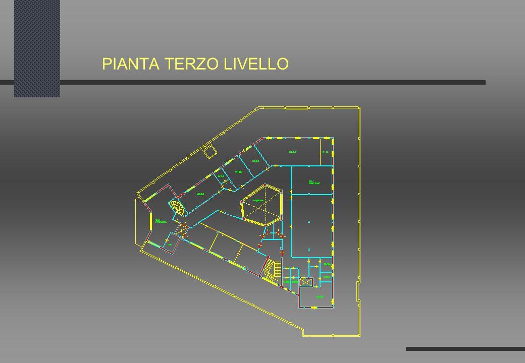 PIANTA TERZO LIVELLO