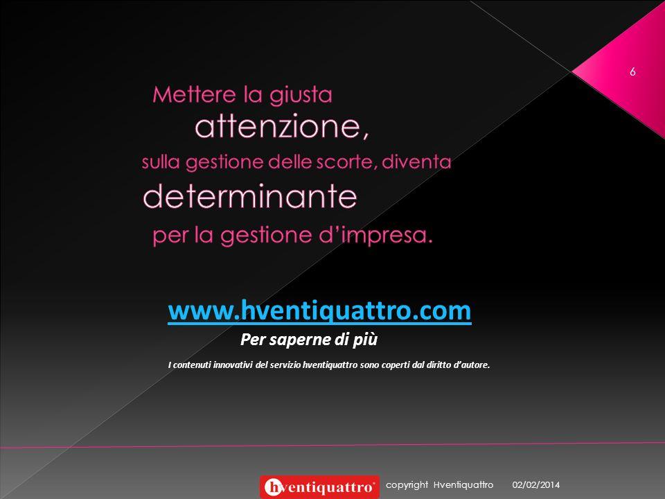 attenzione, determinante www.hventiquattro.com Mettere la giusta