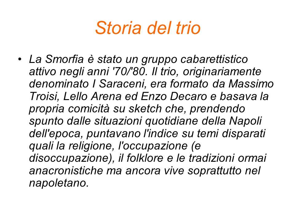 Storia del trio