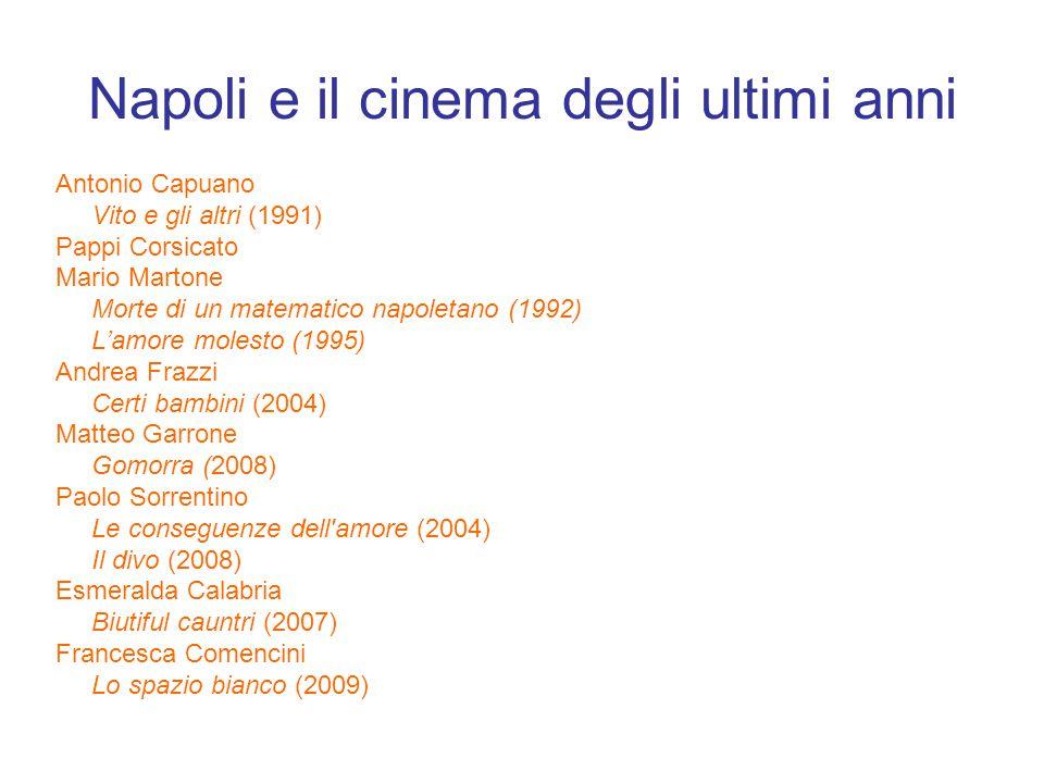 Napoli e il cinema degli ultimi anni