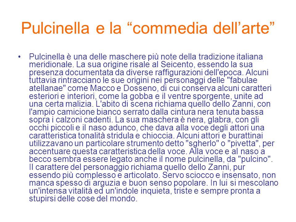 Pulcinella e la commedia dell'arte