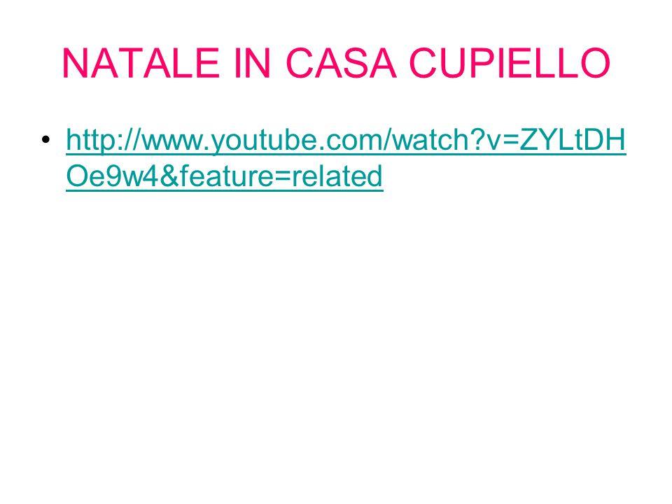 NATALE IN CASA CUPIELLO