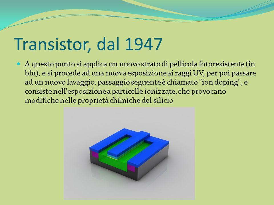 Transistor, dal 1947