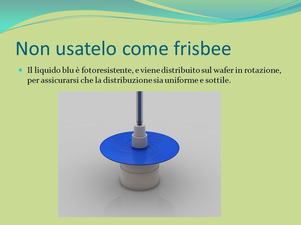 Non usatelo come frisbee