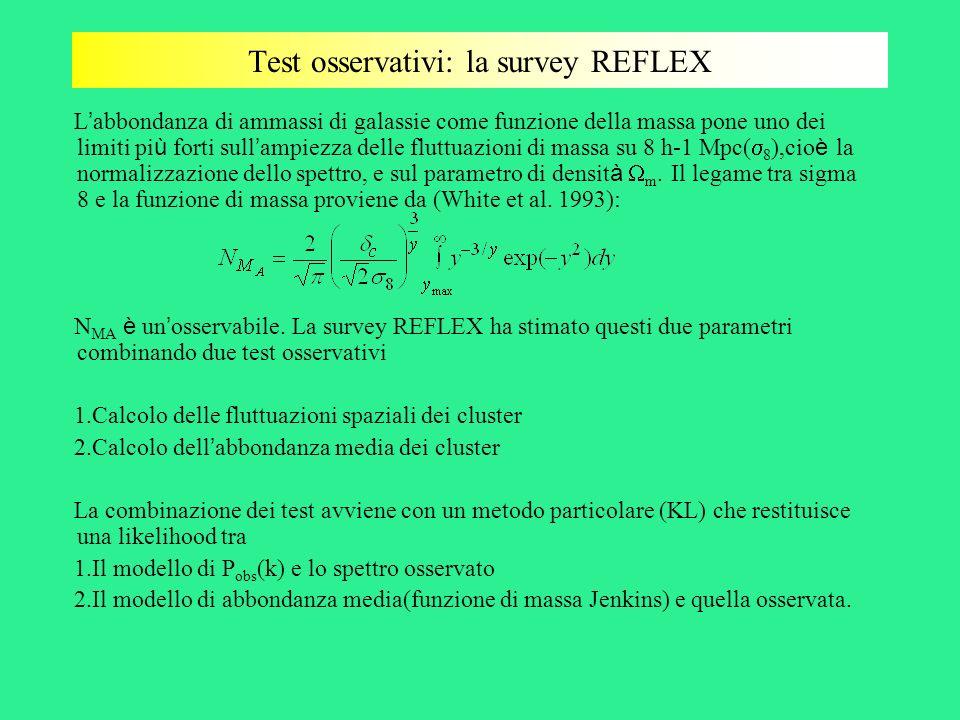 Test osservativi: la survey REFLEX