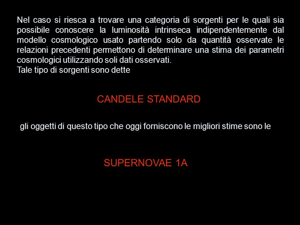 CANDELE STANDARD SUPERNOVAE 1A