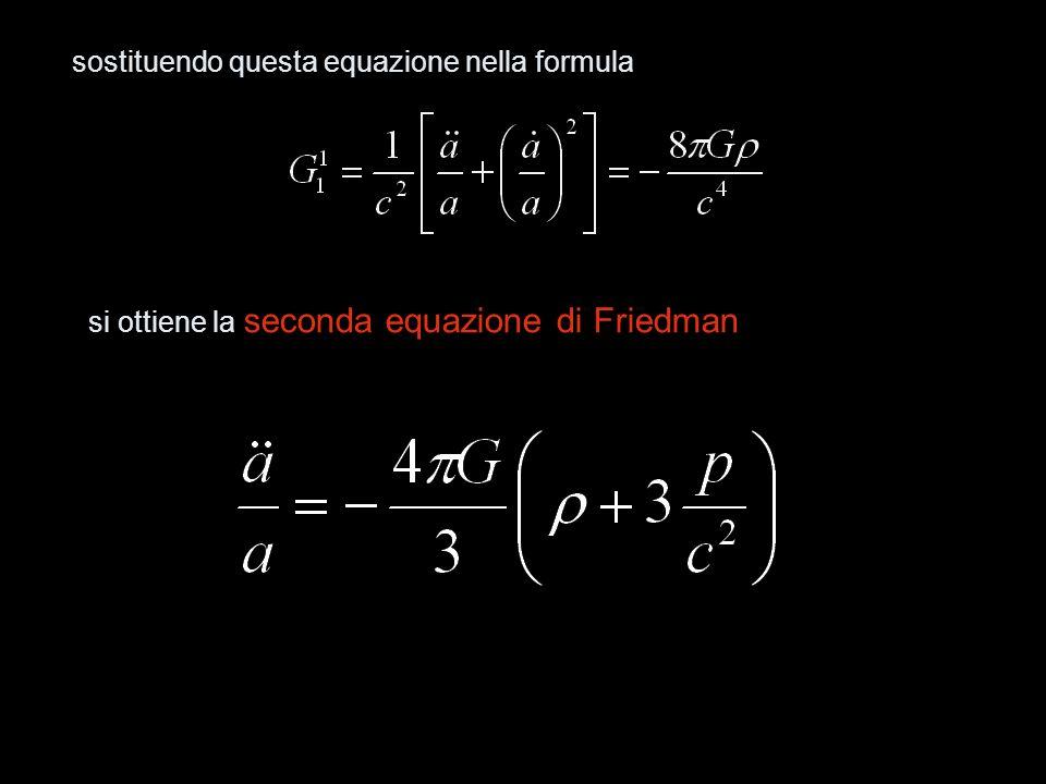 sostituendo questa equazione nella formula