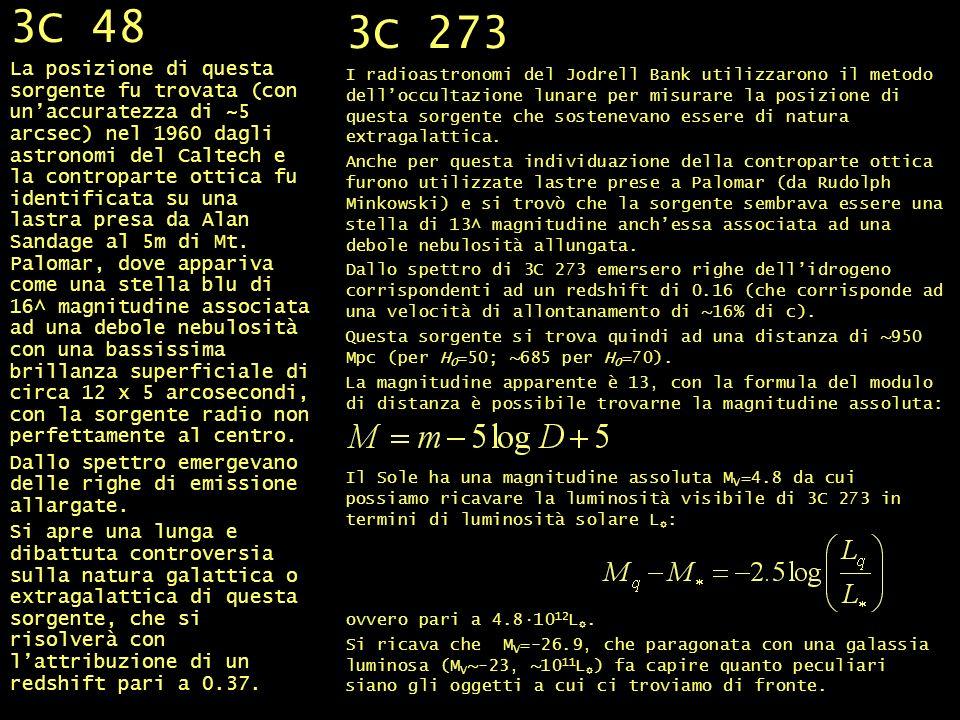 3C 48 e 3C 273 3C 48.