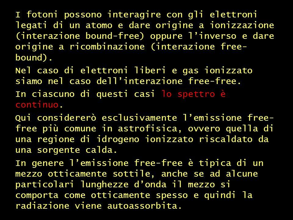 free-free emission – continua (1)